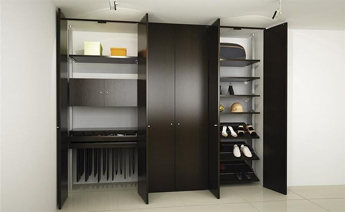 Modelos closets closets y cocinas cancun for Closet de aluminio